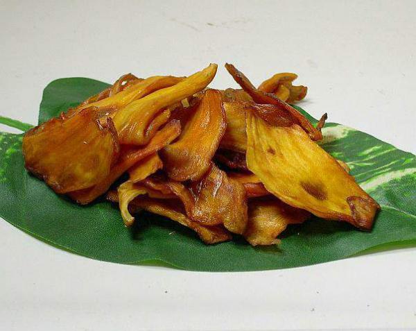 Getrocknete Jackfrucht bio, ungeschwefelt, süß mit tollem Aroma