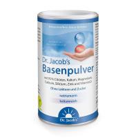 Basenpulver auf Basis von Citraten mit Vitamin D und Zink - 300 g Dose - Original Dr. Jacob's