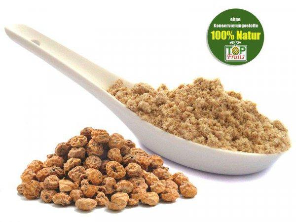 Erdmandelmehl natur, extra fein vermahlen (Tigernuts, Chufas), natur, auch Erdmandelflocken genannt
