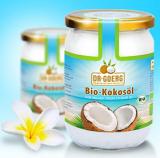 Vegane Produkte Bio-Kokosöl von Dr. Goerg, kaltgepresst kaufen
