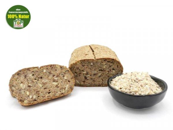 Backmischung, bio kbA, glutenfreie Brotbackmischung mit Braunhirse und Chia Samen
