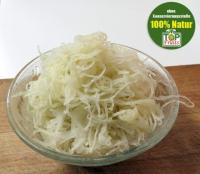 Sauerkraut frisch, aus deutschem Spitzkohl fein gehobelt, Rohkost - neu eingetroffen