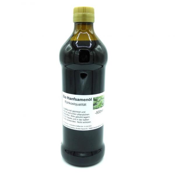 Bio Hanföl, kaltgepresst, natur - 250ml - bio KbA