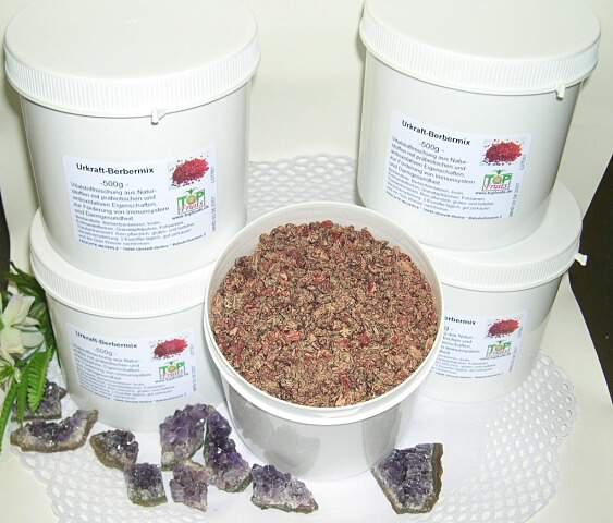 Berberix, natürliche Vitalstoffmischung für Darm und Immunsystem - 500g Dose -