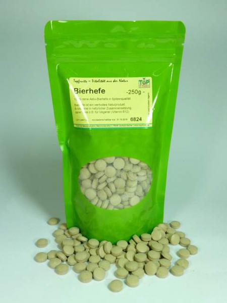 Bierhefetabletten, bioaktive natürliche Vitamin B Quelle