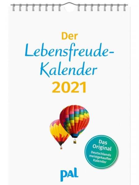 Lebensfreude Kalender 2021 PAL Verlag - Erbauung für das ganze Jahr - Topseller
