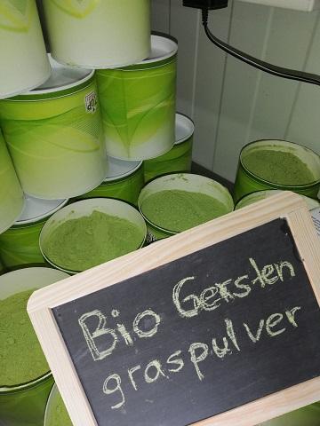 Gerstengraspulver-Bio
