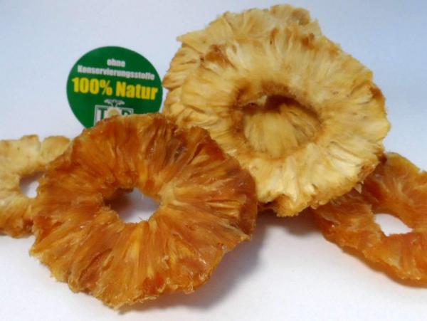 Ananasringe getrocknet, aus Bio-Anbau kbA, natur, ungezuckert