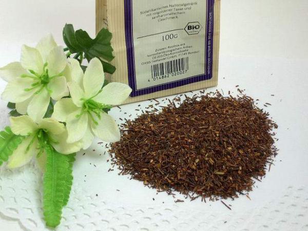 Rooibos (Rotbusch) Tee, natur, bio kbA, Oasis Spitzentee