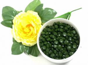 Chlorella vulgaris (Pyrenoidosa), Presslinge, bio kbA, natur ohne Hilfsstoffe