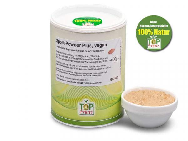 Regeneration Plus, 400g Dose, natürliche Regeneration aus dem Traubenkern, vegan