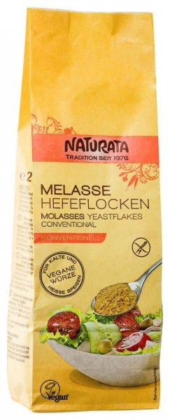 Hefeflocken auf Basis von Melasse - 200 g Beutel - glutenfrei und vegan, natürliches Vitamin B