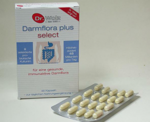 Darmflora plus® select - 40 Kapseln - zur Förderung der Darmgesundheit
