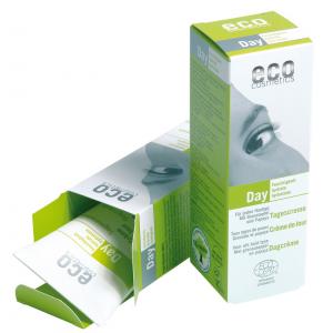 Eco Cosmetics Bio-Tagescreme mit Ginseng und Granatapfel - 50 ml