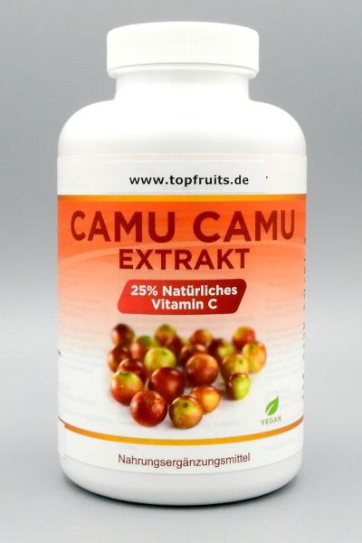 Camu Camu Kapseln 750 mg - natürl. VitaminC - 240 Kapseln - vegan