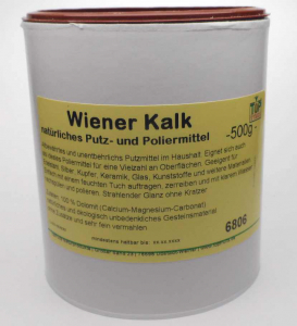 Wiener Kalk, Putz- und Poliermittel