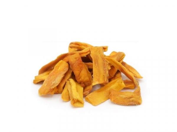 Mangostreifen, bio kbA, ungezuckert, faserfrei - süß und fruchtig