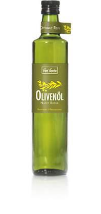 Olivenöl, nativ-extra, bio kbA - 500ml - unfiltriert (Vitaverde, Griechenland)