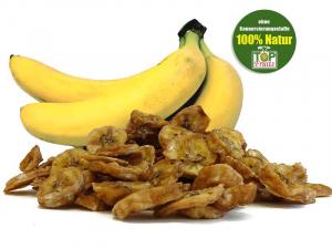 Bananenchips aus Babybananen, natur, superaromatisch, Bio kbA
