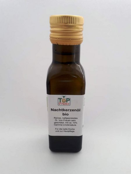 Bio Nachtkerzenöl mit 10% Gamma-Linolensäure