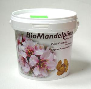 Mandelpüree (Mandelmus), bio kbA, Soyana, kalt verarbeitet - Rohkostqualität