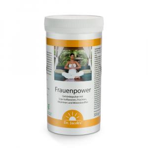 Frauenpower Nahrungsergänzung mit - Pflanzen-Östrogenen, Vitaminen und Spurenelementen