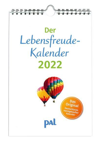 Lebensfreude Kalender 2022 PAL Verlag - Erbauung für das ganze Jahr - Topseller