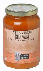 Red Palm, Amanprana rotes Palmöl - 1600ml Glas, nativ bio kbA