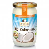 Kokosmus, natur von Dr. Goerg - biokbA - 1000g Glas - 100% Kokosnuss