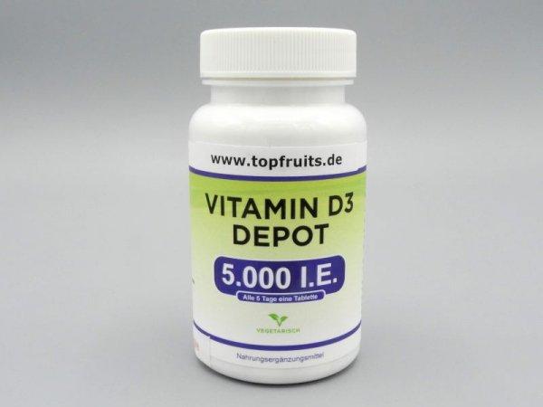 Vitamin D3 Depot 5000 I.E. - 500 Tabletten