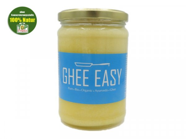 Ghee - Ghee Easy - aus 100% Bio Butter, ayurvedisches Butterfett- 500g