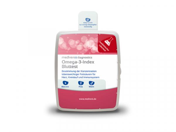 Omega-3-Index Bluttest - wichtiger Parameter für Herz- und Gefässgesundheit