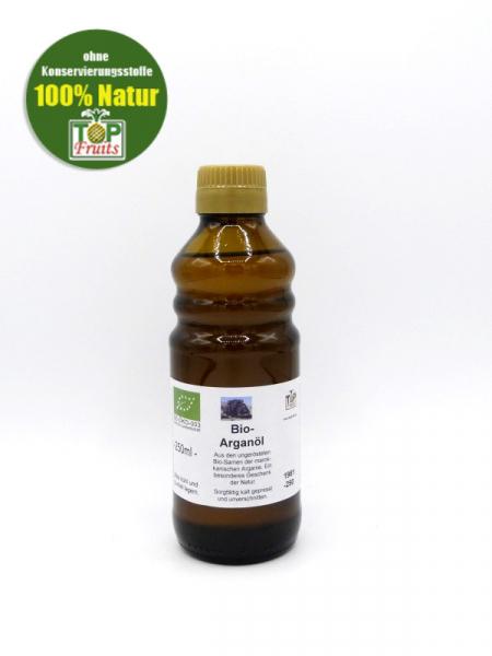 Arganöl (Arganenöl), kaltgepresst, ungeröstet - kontrolliert biologisch