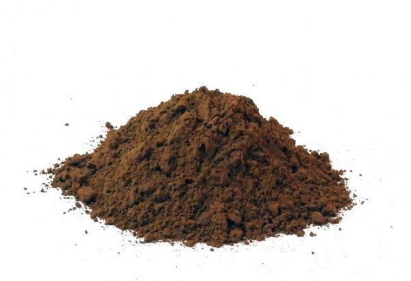 Chaga Pilz Pulver (Inonotus-obliquus), aus Wildwuchs-Sammlungen, für einen Pilz-Tee