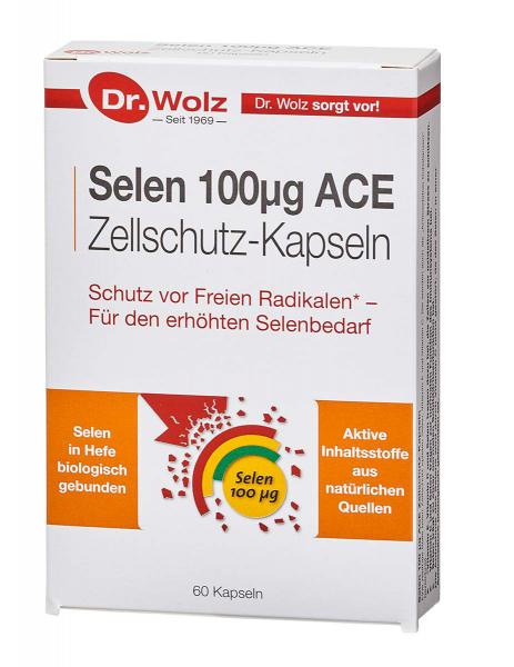 Selen 100µg ACE - Dr. Wolz - 60 Kapseln -