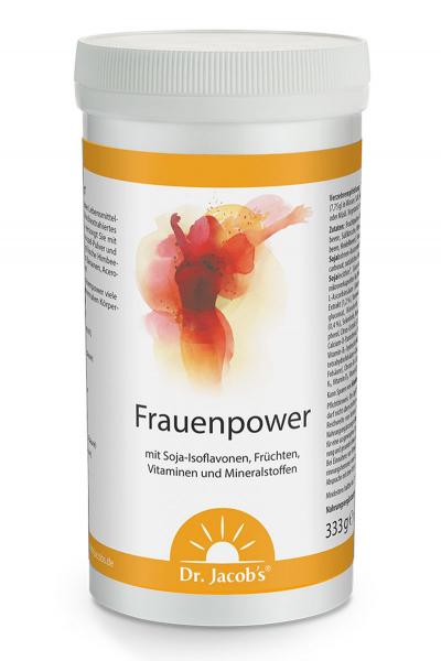 Frauenpower vollwertiges Getränk auf Fruchtbasis mit Soja-Isoflavonen und Vitaminen