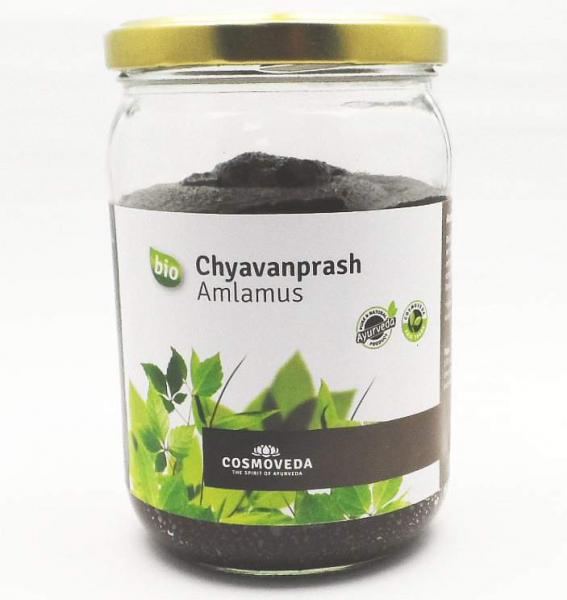 Chyavanprash (Amlamus, Amalaki), bio, 600g Glas, Ayurveda