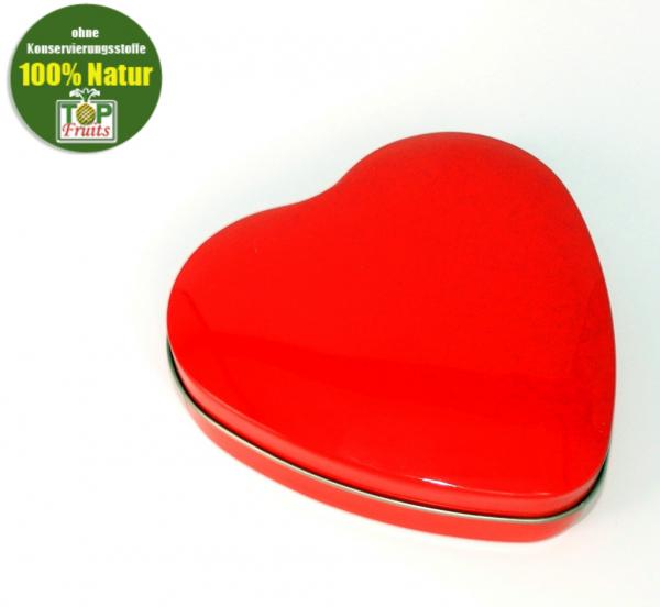 Herzdose, rote Herzdose - ideal für leckere und gesunde Naschereien