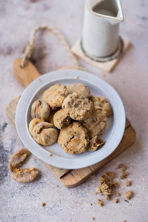 Glutenfreie Feigen Cookies