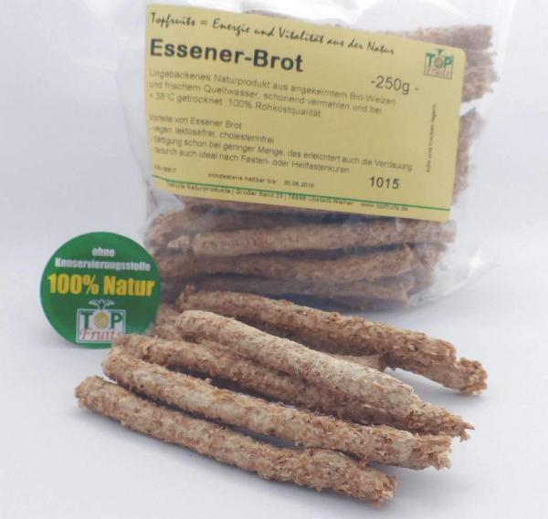 Essener-Brot - dünne Brotstangen aus 100% Vollkorn-Weizen, vegan