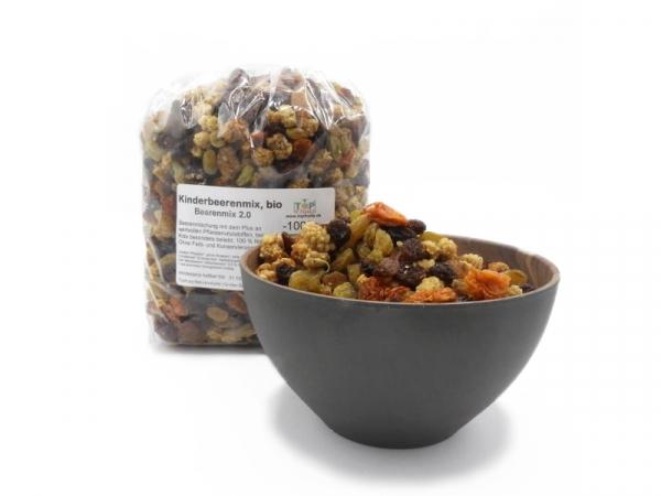 Beeren Mix 2.0, bio kbA, Kinderbeerenmix, 100% natursüß, reich an wertvollen Inhaltsstoffen