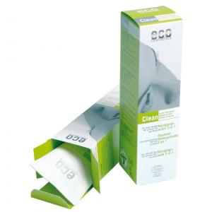 Eco Cosmetics - Bio Reinigungsmilch - 125 ml -  mit grünem Tee und Myrte