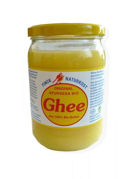Ghee - aus 100% Bio Butter, ayurvedisch veredelte Butter - 480g