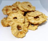 Ananas getrocknet, Rohkost, natur, bio kbA, aus Togo