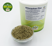 Bitterpulver-Plus Bitterglück - 200g - für Top Verdauung, erweiterte Rezeptur mit 10 Bitterkräuter