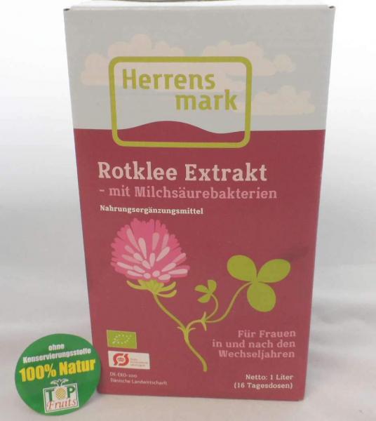 Rotklee Extrakt - 1L - bio kbA, fermentiert mit Milchsäurebakterien