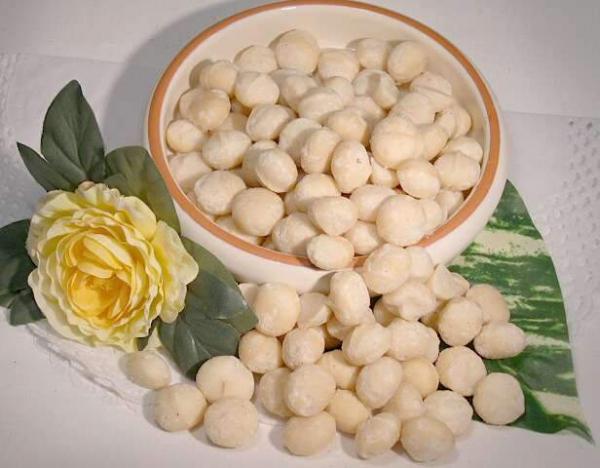 Ganze Macadamia Nüsse, ungeröstet, ungesalzen, naturbelassen