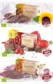 Rohkostbrote bio - 100 % natürlich - 3 leckere Geschmacksvariationen