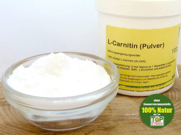 L-Carnitin (Acetyl Carnitin), 100g Dose