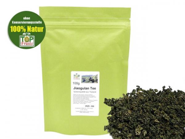 Jiaogulan Blätter - 100g - (Five Leaves Ginseng, Gynostemma Pentaphyllum)